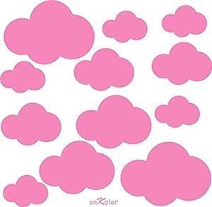 Vinilo nubes infantiles por Enkolor