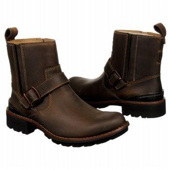Clarks Men's Chilton Side-Zip Buckle Boot,Tan,11
