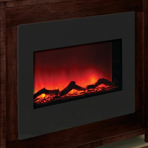 Amantii Zero Clearance 30-inch Built-in Electric Fireplace - Black Glass - Zecl-30 picture B00F6SG276.jpg