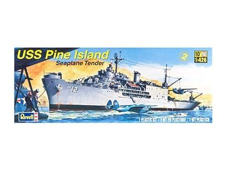 Maquette bateau : USS Pine Island
