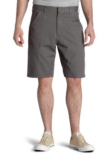 Carhartt Men's Cotton Twill Utility Work Short,Charcoal  (Closeout),30 Closeout Casual Shorts