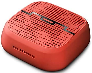 【国内正規品】Sol Republic Punk ワイヤレススピーカー《Bluetooth Ver4.0対応》/フルオロレッド SOL PUNK RED