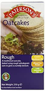 Paterson's Rough Oatcakes (Pack of 12)