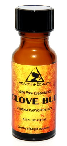 Clove Bud Essential Oil Aromatherapy 100% Pure 0.5 oz, 15 ml