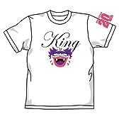 桃太郎電鉄 キングボンビーTシャツ ホワイト サイズ:L
