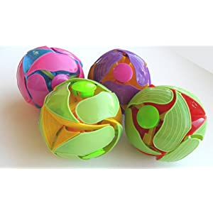 Magic Expanding Balls Set of 4 with Color Flipping Action