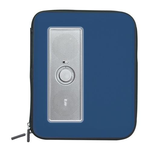 Iluv Isp210Blu Portable Amplified Stereo Speaker Case For Ipad, Ipad 2, Mp3 Player And Tablets - Blue