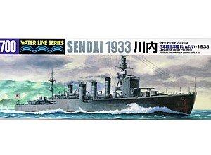 1/700 ウォーターライン 日本海軍軽巡洋艦 川内 1933