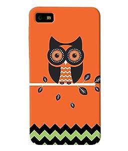 Fuson Pattern Owl Back Case Cover for BLACKBERRY Z10 - D3893