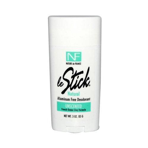 Le Stick Deodorant - Unscented 3 oz ( Multi-Pack)