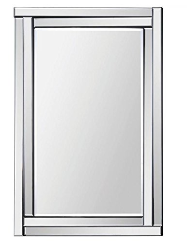 Ren-Wil MT1285 Ava Wall Mount Mirror by Jonathan Wilner, 35 by 24-Inch