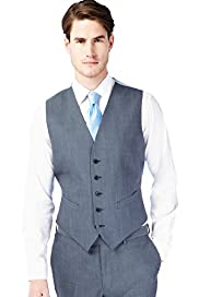 Autograph Pure Wool 5 Button Waistcoat