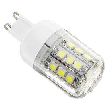 Rayshop - G9 4W 30X5050Smd 400Lm 6000-6500K Cool White Light Led Corn Bulb(Ac 110-130V)