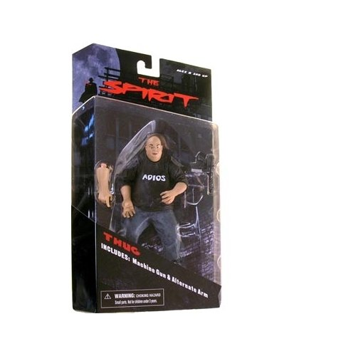 The Spirit Mezco Toyz Series 1 Action Figure Thug - 1