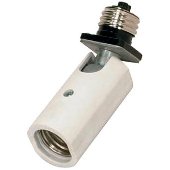 satco 77606 swivel socket sf77 606 base extender light. Black Bedroom Furniture Sets. Home Design Ideas