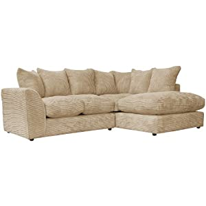 Dylan corner sofa with chaise and scatter cushions 3 for Amazon sectional sofa with chaise
