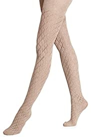 Small Diamond Patterend Tights 1 Pair Pack [T60-6133-S]