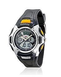 Yepme Mens Analog Digital Watch - Grey
