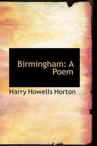 Birmingham: A Poem
