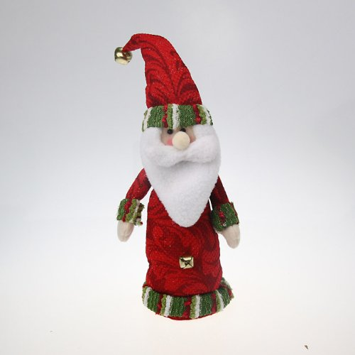Christmas Cylinder Body Santa Desktop Figure Toy, Christmas Decorations, Gift Idea