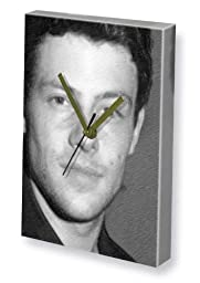 CORY MONTEITH - Canvas Clock (LARGE A3 - Signed by the Artist) #js001