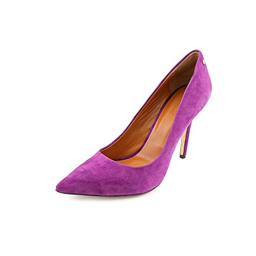 Rachel Roy Ava Womens Size 10 Purple Suede Pumps Heels Shoes