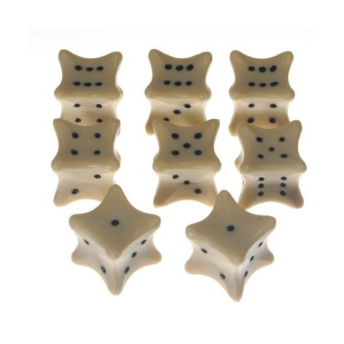 Dice Bones Bundle of 8 Dice