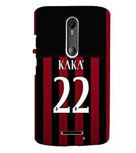 PRINTVISA Football Kaka Brazil Case Cover for Motorola Moto X 3rd Gen