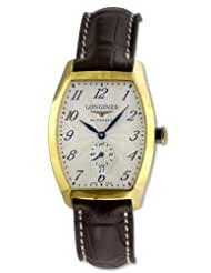 Longines Evidenza Automatic 18k Gold Mens Watch L2.642.6.73.2