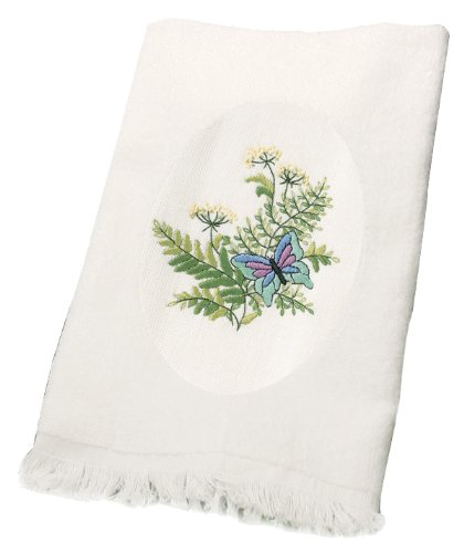 Dimensions Needlecrafts Embroidery, Botanical Butterflies Guest Towels front-735273