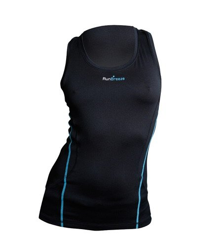 RunBreeze Womens Performance Running Vest Black