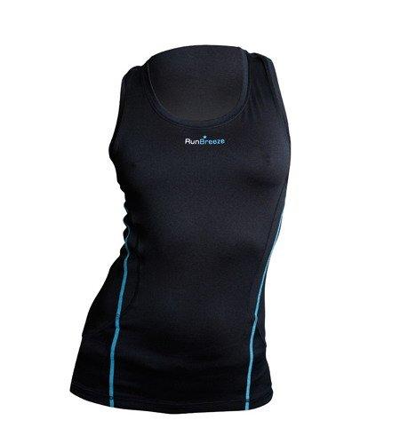 RunBreeze Womens Performance Running Vest Black