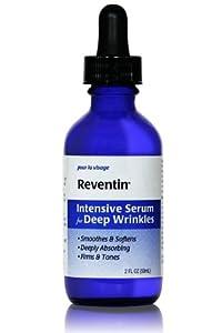Reventin Intensive Serum for Deep Wrinkles. Collagen Infused - 2 Fl Oz.