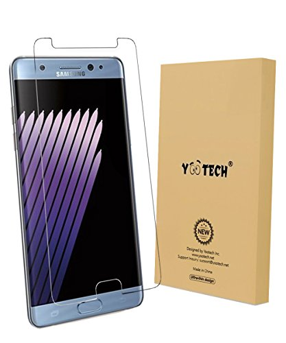 Galaxy Note 7 Protectordepantalla, YOOTECH [CoberturaCompleta] [EsteCaso] [Anti-Scratch] [Reutilizable] Wet AppliedProtectordepantallaparaSamsungGalaxy Note7HDClaroAnti-BurbujaPelícula-Garantíadepor vida width=