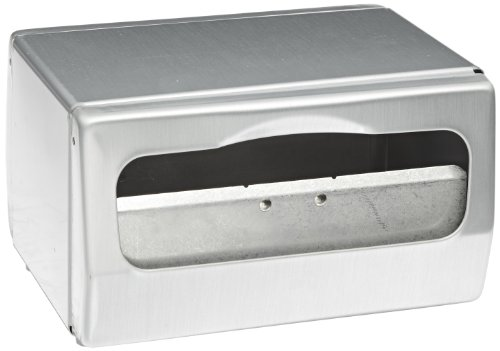 San Jamar H4000 Steel Tabletop Minifold Napkin Dispenser, 170 Capacity, 7-3/4