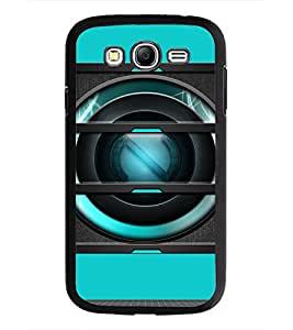 PrintDhaba Speaker D-3493 Back Case Cover for SAMSUNG GALAXY GRAND NEO (Multi-Coloured)
