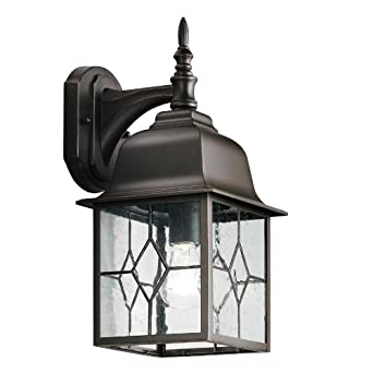 Outdoor porch wall lights