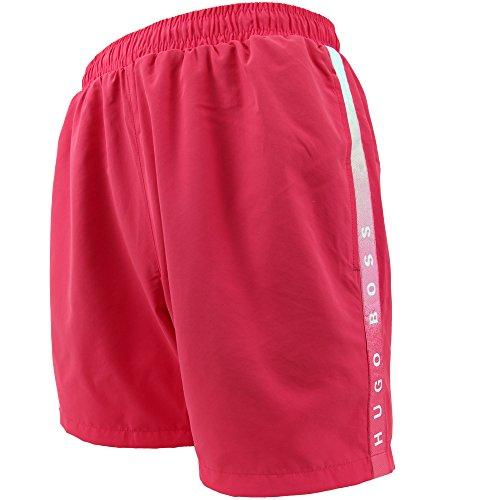 hugo-boss-bade-shorts-xl-671-light-red-normale-lange-mit-gesasstasche-und-innenslip