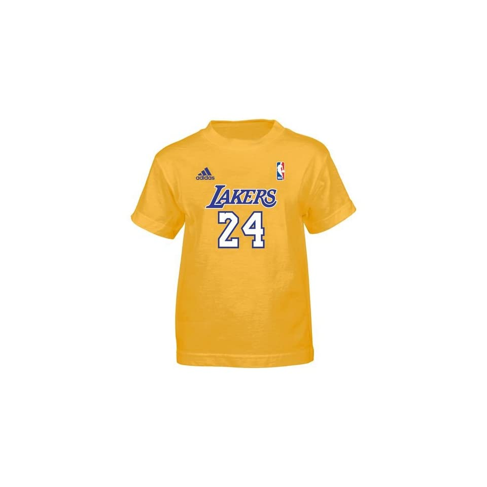 0a36036b185 Adidas Youth Los Angeles Lakers Kobe Bryant T Shirt on PopScreen