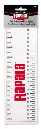 Rapala Adhesive Fish Ruler 36 inch (Boat Fishing Accessories compare prices)