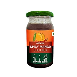 Down to Earth Spicy Mango, 220 g