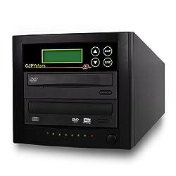Copystars DVD duplicator Sata 1 to 1 Dual layer SONY 24X burner Copy Easy CD DVD Duplicator Writer Copier tower