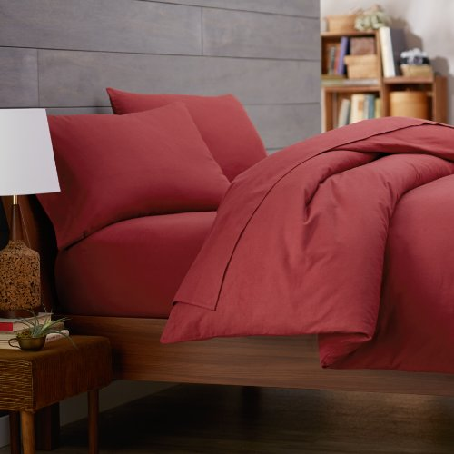 Red Duvet Cover Twin front-121372