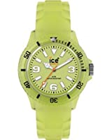 Ice-Watch Unisex Glow Yellow Analogue Watch GL.GY.U.S.11  with Silicone Strap