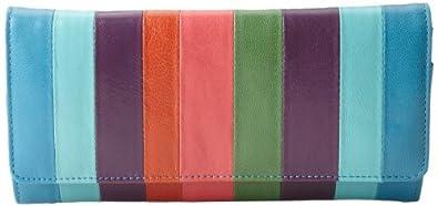 Tusk Accordion ST-494 Wallet,Tangerine Multi,One Size