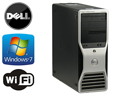 Dell Precision T3500 Workstation - Intel Xeon Quad Core 2.93Ghz - *New* 2Tb Hdd W/ 2Yr Warranty - 8Gb Ram - Wifi - Featuring Dual Video Output - Dvd/Cd-Rw - Windows 7 Professional 64-Bit Operating System (Featuring An Icompny Usb Keyboard And Mouse)