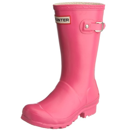 Hunter Junior Young Hunter Original Wellies Fuchsia W23500 8 Child UK