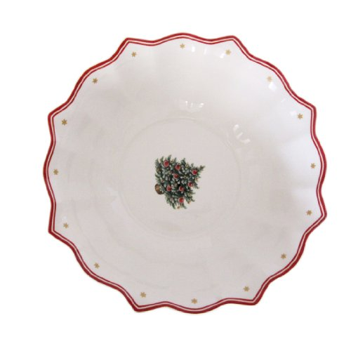 Villeroy & Boch Toy's Fantasy 9-1/2-Inch Large Bowl, Christmas Tree