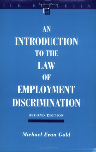 an introduction to the analysis of employment law The vagueness of the term labor and employment law can deter law students and attorneys when considered alongside easily definable fields that may sound more exciting, such as environmental law, education law, and health law.