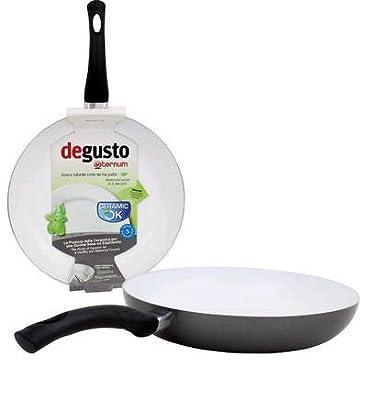 Bialetti Aeternum Fry Pan, 12-inch, Gray/White